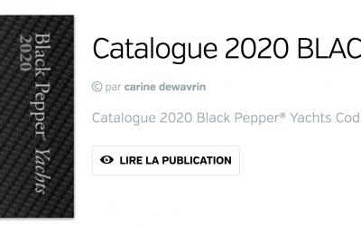 Le nouveau catalogue Black Pepper 2020